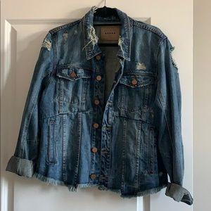 Blank NYC Oversized Jean Jacket